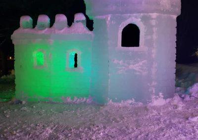 sculpture de glace - annie-ève Larochelle